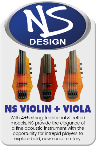 NS Design Electric Violin & Viola