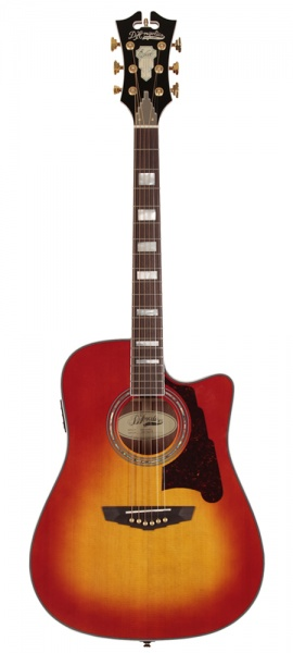 D'Angelico SD-400 Brooklyn Dreadnought • Cherry Sunburst