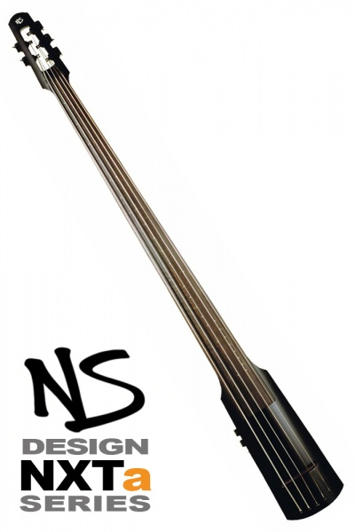NS Design NXT5a Double Bass • Black Satin