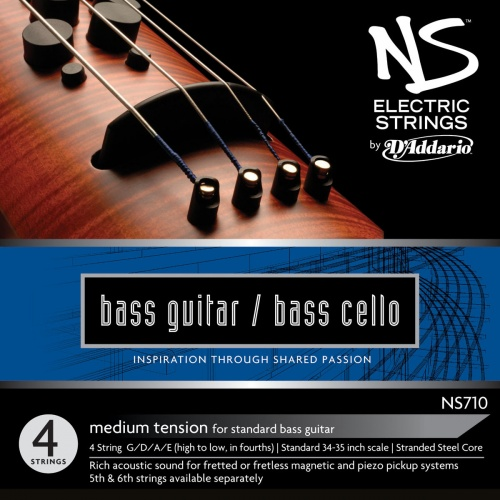 NS Design NS710 Bass Guitar/Bass Cello 4 String Set