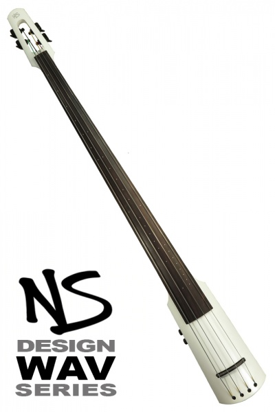 NS Design WAV4 Double Bass •Brilliant White