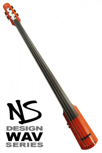 NS Design WAV5 Double Bass • Amberburst