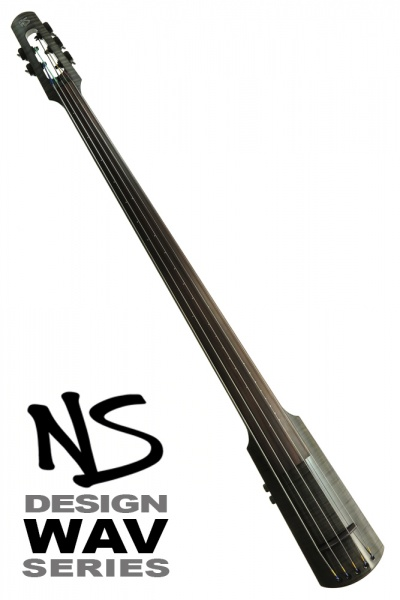 NS Design WAV5 Double Bass • Trans Black