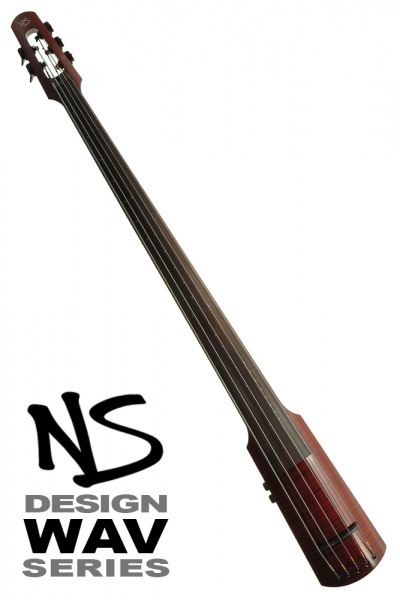 NS Design WAV5 Double Bass • Trans Red