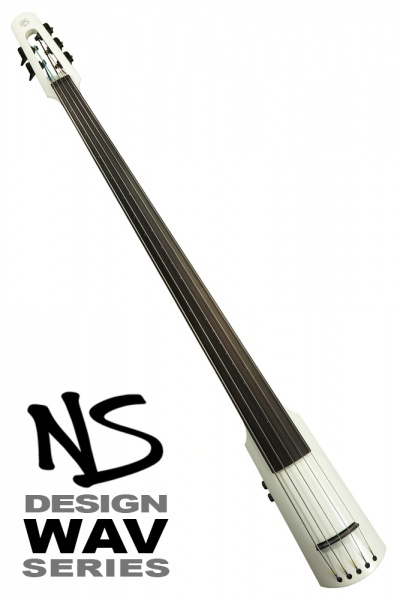 NS Design WAV5 Double Bass • Brilliant White