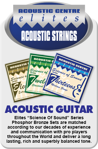 Elites ''Science Of Sound'' Acoustic Strings