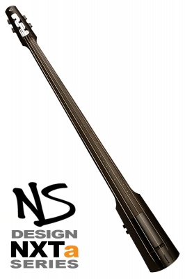 NS Design NXT4a Double Bass - Black Satin