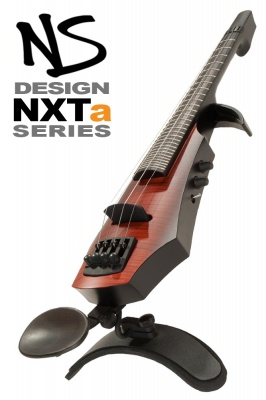 NS Design NXT5a 5 String Violin • Fretted