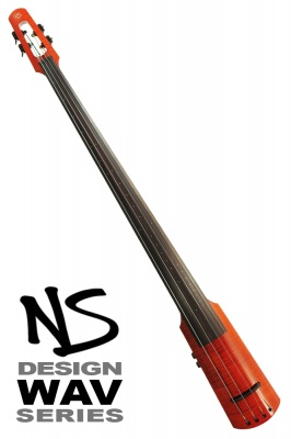 NS Design WAV4 Double Bass • Amberburst
