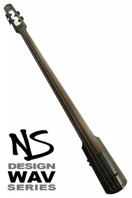 NS Design WAV4 Double Bass • Trans Black