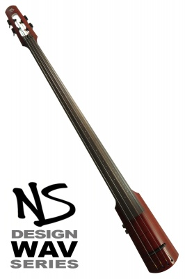 NS Design WAV4 Double Bass • Trans Red