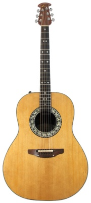 Ovation Custom Balladeer • Natural • ex-WWRY