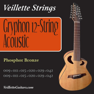 Veillette Gryphon 12-String Set